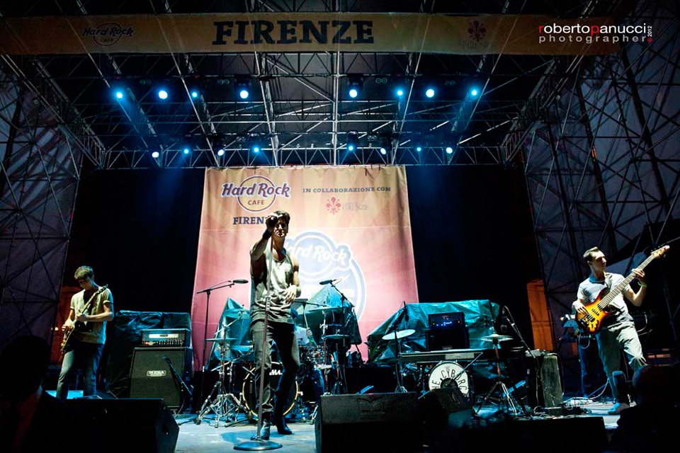 Desma - Hard Rock Cafe Rocks The Square - Opening act for Iggy and the Stooges - Firenze, 27/09/2012